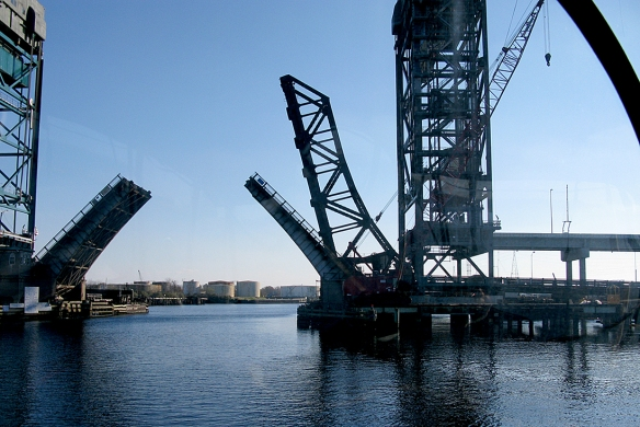 Gilmerton Lift Bridge on the Elizabeth River