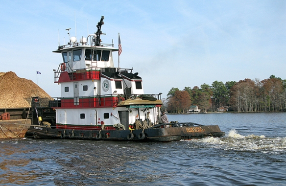 Island Express tug